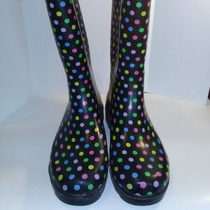 Rubber Womens Boots Size 8